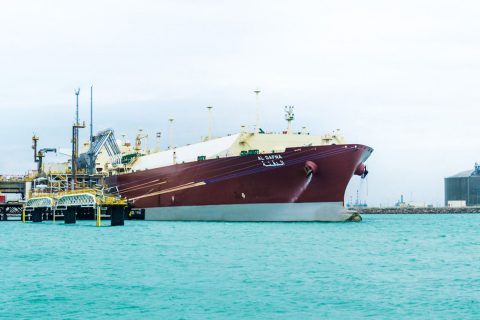 Nakilat's Al Dafna was the first Q-Max LNG carrier to unload cargo at Dunkirk terminal in France.